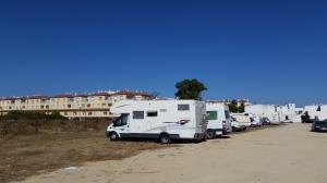 Autocaravana en familia en Tarifa